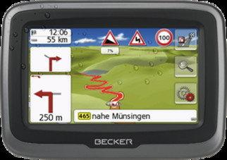Becker Mamba 4 LMU Plus Europa