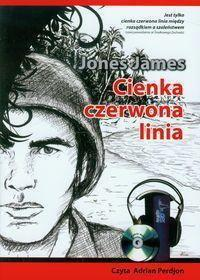 Jones James Cienka czerwona linia. Książka audio CD MP3