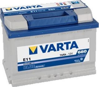 Varta Blue Dynamic E11 74 Ah 680 A P+