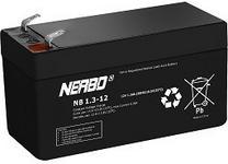 Bateria akumulator kwasowo-oowiowy Nerbo 12V1.3Ah NB12-1.3