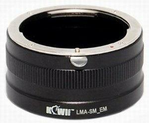 KiwiFotos Adapter bagnetowy Sony Nex/ Sony Alfa ( Minolta AF)