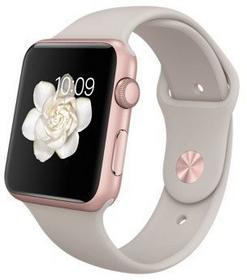 Apple Watch 38 mm Aluminium / Beżowy