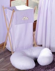 Mamo-Tato Kosz na bielizn śpiący miś we fiolecie