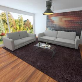 vidaXL Kanapa sofa jasnoszara 3+2