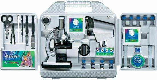 Bresser Mikroskop dla dzieci Optik Biotar DLX powiększenie 50-1200 x