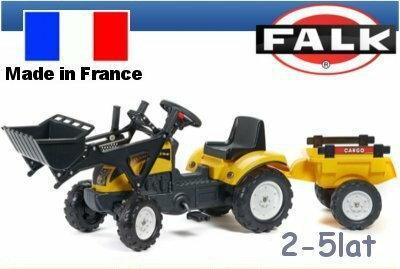 Falk Traktor Ranch z łyżką i przyczepą 2055CM