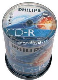 Philips CD-R 700MB (szpula 100 szt.)