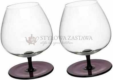 Sagaform Kieliszki do brandy bujające, purpurowe, 2 szt SF-5016543
