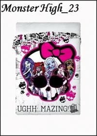 Disney Mówisz i Masz Narzuta 160x200 Licencyjna Monster High23 72223