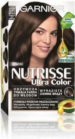 Garnier Nutrisse Ultra Color 3.03 Wyrazisty Ciemny Brąz