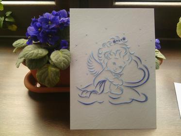DaWanda.pl obrazy haft matematyczny-aniołek female 93839115