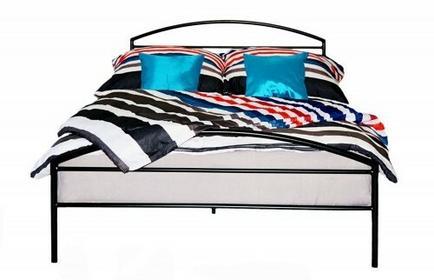 Grupa Lak System Łóżka metalowe Łóżko metalowe do sypialni 140x200 WZÓR 19 140