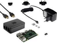 Raspberry PI Renkforce Zestaw 3 Renkforce obudowa zasilacz system Noobs na karcie MicroSD zestaw radiatora kabel HDMI