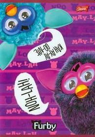 Zeszyt A5 Furby w kratkę 32 strony-