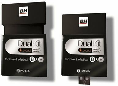 BH Fitness Dual Kit do rowerów i orbitreków