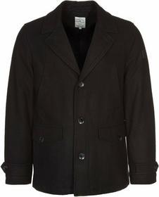 Tom Tailor Płaszcz wełniany /Płaszcz klasyczny czarny TO222G01Z-802