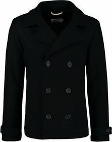 Pier One Płaszcz wełniany /Płaszcz klasyczny czarny PI922L001-Q11