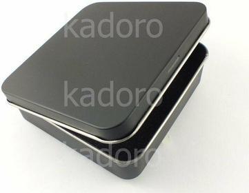 Metalowe pudełko uniwersalne duże czarne