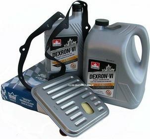 Petro-Canada Filtr oraz olej Dextron-VI automatycznej skrzyni biegów Chrysler 30