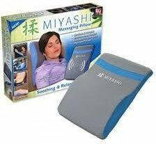 MIYASHI Poduszka masująca mata do masażu rehabilitacyjna 03110