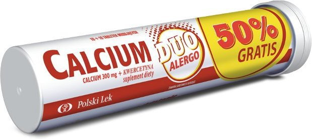 Polski Lek Calcium Duo Alergo