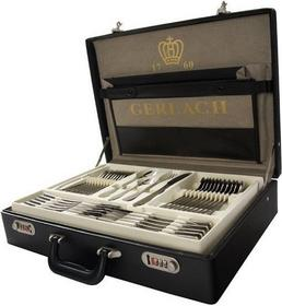 Gerlach PROMOCJA Sztućce Flames03/ matowione - 68 elementów dla 12 osób w walizce 109