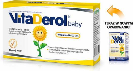 Sequoia VitaDerol BABY witamina D 30 szt.