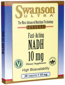 SWANSON NADH 10mg 30 szt.