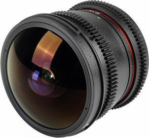 Samyang 8mm f/3.8  V-DSLR UMC CS II Nikon