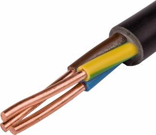 Kable i Przewody wyprodukowane w UE Kabel energetyczny ziemny YKY 3x16 żo 0,6/1k