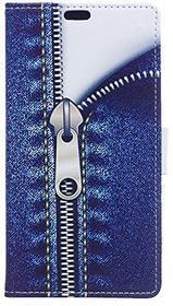 Samsung Voguecase für Galaxy J3 Pro hülle, Kunstleder Tasche PU Schutzhülle Tasche Leder Brieftasche Hülle Case Cover (Reißverschluss) + Gratis Universal Eingabestift