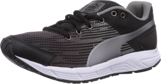Puma Sequence Jr Blk/Aged Silver 31 EU