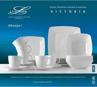 Lubiana Zestaw obiadowo- kawowy 6-osobowy Victoria 278206