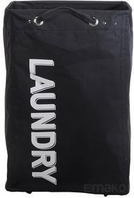 Kosz na pranie LAUNDRY - pojemnik 80 l - czarny 219000040