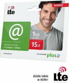 iPlus Internet LTE na kartę (nanoSIM) 15 zł