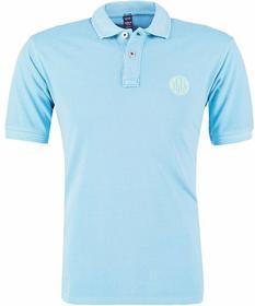 Replay T-Shirt polo cerulean niebieski M6734R.000.20132G