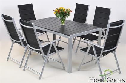 Home&Garden Meble Aluminiowe IBIZA Pollywood Silver