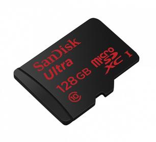SanDisk Ultra microSDXC 80MB/s + adapter 128GB
