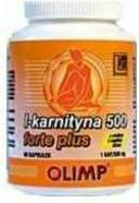 Olimp L-karnityna 500 Forte Plus 60 kap./500mg