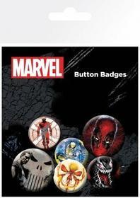 Extreme Mix Marvel - zestaw przypinek