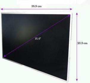 Qoltec LED 15.6 cala 1366*768 GLOSSY - 40 Pin 7136.LED_15.6_G]