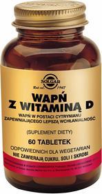 Solgar Wapń Cytrynian z witaminą D3 60 szt.