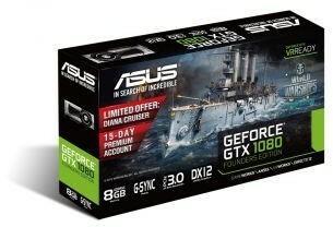Asus GeForce GTX 1080 8G