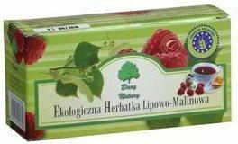Dary Natury Herbatka Lipowo-malinowa 40g BIO