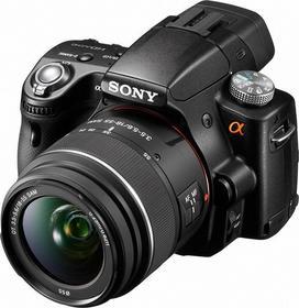 Sony Alpha 35 + 18-55 + 55-200 3D