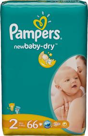 Pampers New Baby-Dry 2 2 Mini 66 szt.