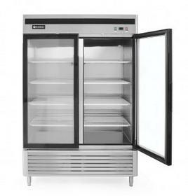 Hendi Szafa chłodnicza Kitchen Line, przeszklona - 2 drzwiowa 1335 l 233184