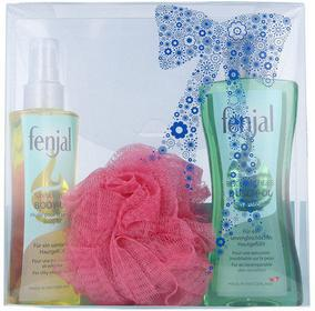 Fenjal Oil Skincare Kit 1506 W Kosmetyki Zestaw kosmetyków Olejek pod prysznic 200ml + Olejek do ciała 150ml + 1szt Gąbka