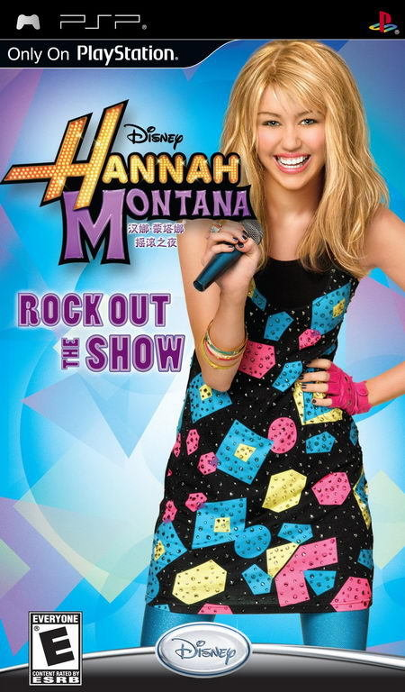Hannah Montana Rock Out the Show PSP