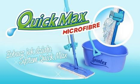 Spontex QUICK MAX MOP PŁASKI Z WYC.97050122